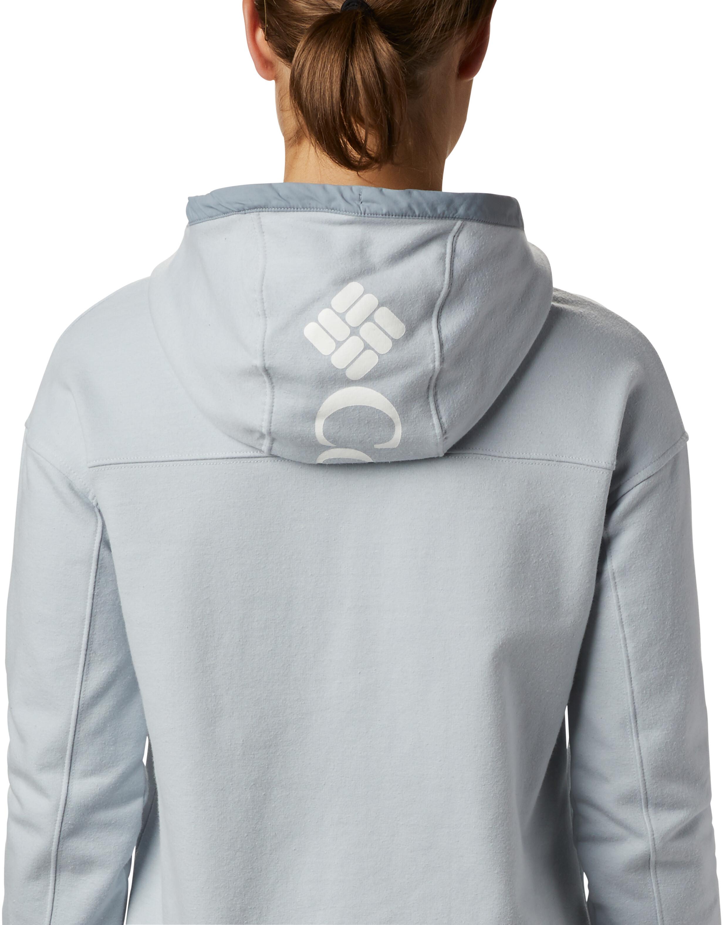 Columbia Columbia Lodge Full Zip Jacket Women cirrus grey/tradewinds grey